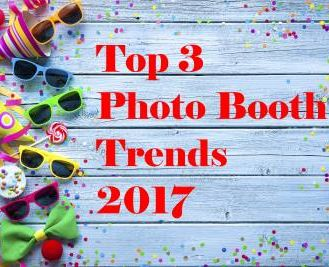 Top 3 Photo Booth Trends for 2017