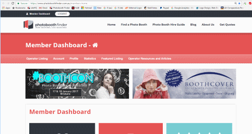 Member Dashboard Banner Ad